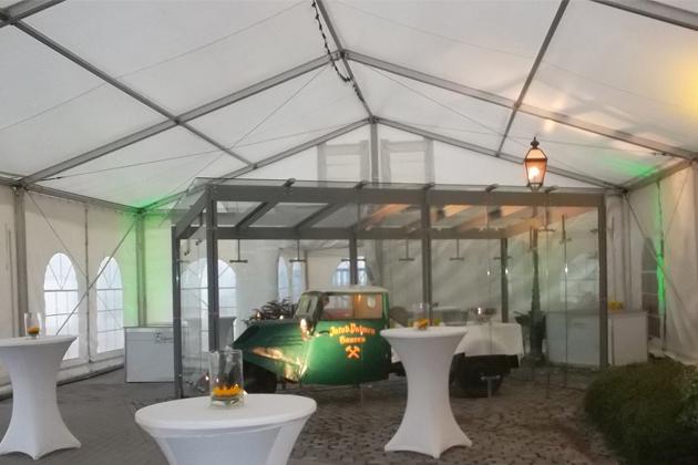 Zelt-Sonderaufbauten